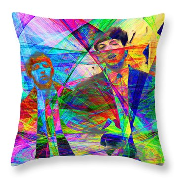 Strawberry Fields Forever 20130615 Throw Pillow