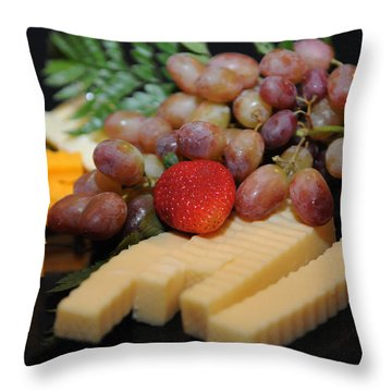 Strawberry Plus Throw Pillow