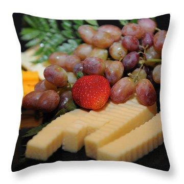 Strawberry Plus Throw Pillow