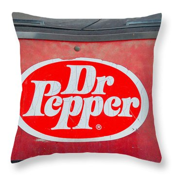 Street Cooler Throw Pillow