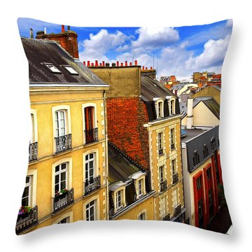 Chimney Tops Throw Pillows