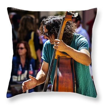 Street Jazz - St. Remy Style Throw Pillow