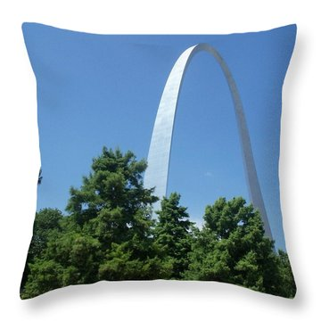 Throw Pillow featuring the photograph Street Level by Kelly Awad