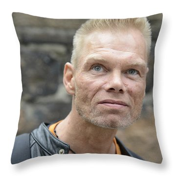 Street People - A Touch Of Humanity 3 Throw Pillow