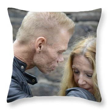 Street People - A Touch Of Humanity 4 Throw Pillow