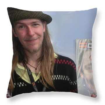 Street People - A Touch Of Humanity 5 Throw Pillow