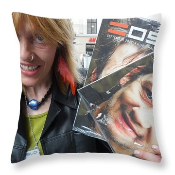 Street People - A Touch Of Humanity 6 Throw Pillow