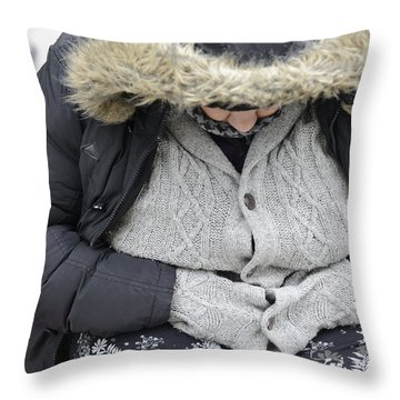 Street People - A Touch Of Humanity 7 Throw Pillow