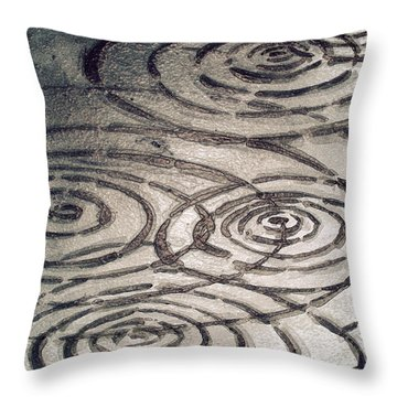 Street Ripples Throw Pillow