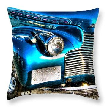 Street Rod Throw Pillow by Debbi Granruth