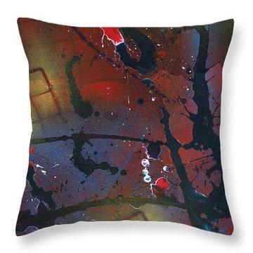 Street Spirit Throw Pillow by Roz Abellera Art