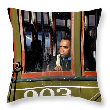 Streetcar 903 Throw Pillow