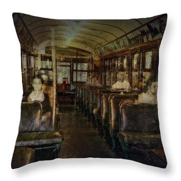 Streetcar Spirits Throw Pillow