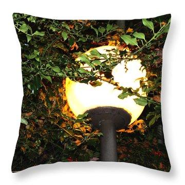 Streetlight Throw Pillow