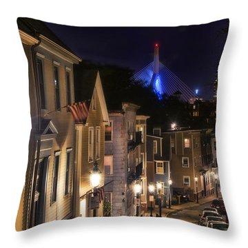 Streets Of Charlestown 2 Throw Pillow by Joann Vitali