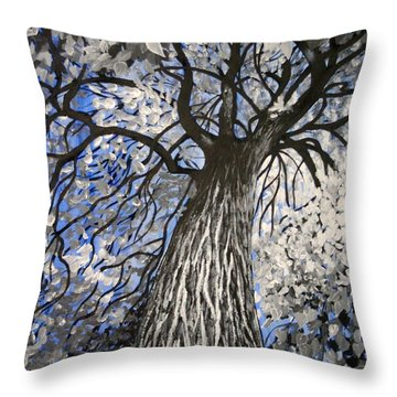 Strength And Resilience Throw Pillow
