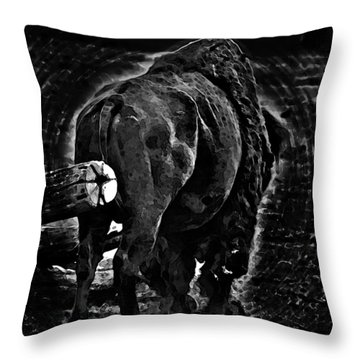 Strength Of One Throw Pillow