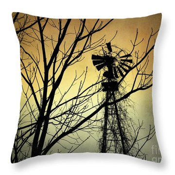 Throw Pillow featuring the photograph Strength Of Time by Heather King