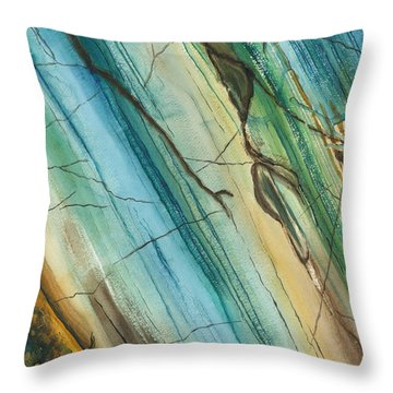 Striations Throw Pillow