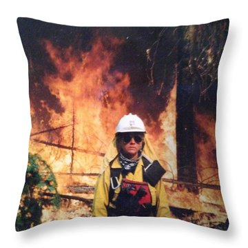 Strike Team Leader Throw Pillow