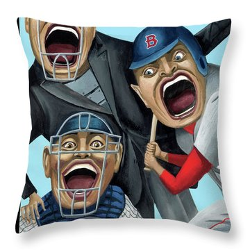 Strike Zone Throw Pillow