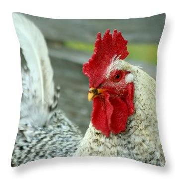 Striking A Pose Throw Pillow by Art Block Collections