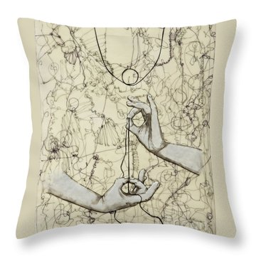 String Theory - This Moment Throw Pillow