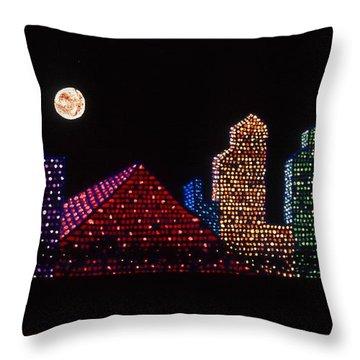 Strip Series - City Throw Pillow