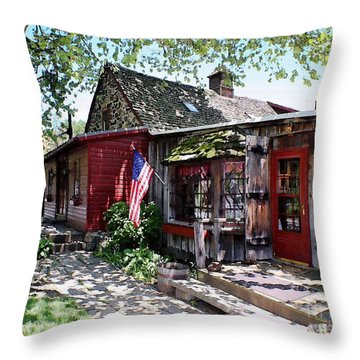 Strode Mill West Chester Pa Throw Pillow