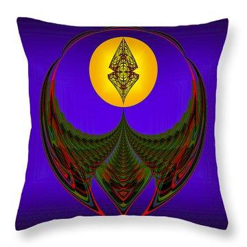 Strohn Thinker Throw Pillow