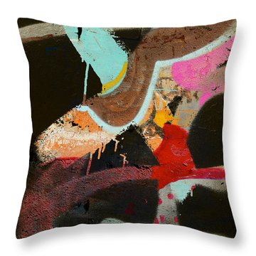 Stroke Of Dawn Throw Pillow