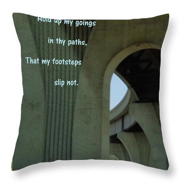 Strong Support Throw Pillow