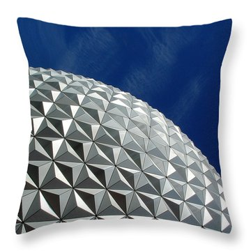Throw Pillow featuring the photograph Structural Beauty by David Nicholls