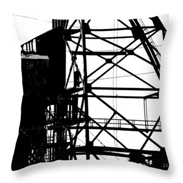 Structure 3 Throw Pillow
