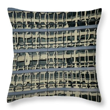 Throw Pillow featuring the photograph Structured by Christiane Hellner-OBrien