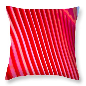 Throw Pillow featuring the digital art Strumming by Lena Wilhite