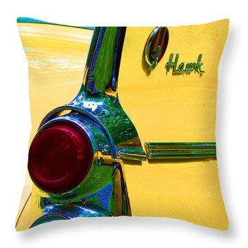 Studebaker Hawk Throw Pillow by Alys Caviness-Gober