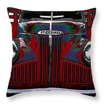 Studebaker Truck Throw Pillow