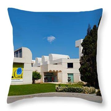 Studies Centre Of Contemporary Art Throw Pillow