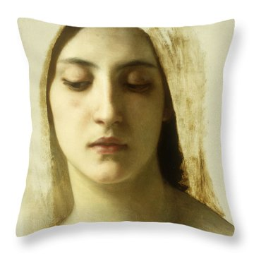 Study For La Charite Throw Pillow