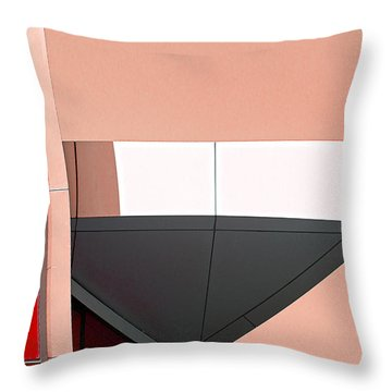 Study In Architecture Throw Pillow