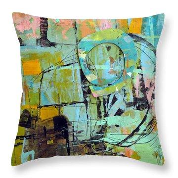 Study Throw Pillow by Katie Black