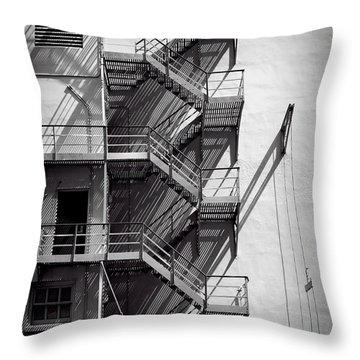 Study Of Lines And Shadows Throw Pillow