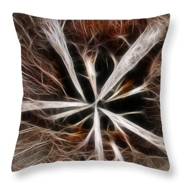 Stumped Throw Pillow by Shane Bechler