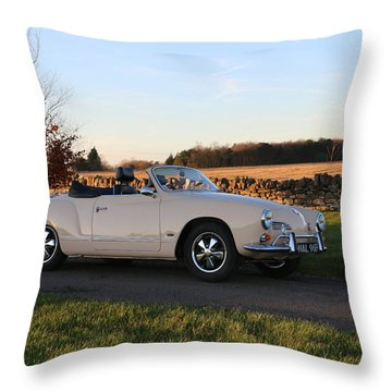 Styling In The Country Side Throw Pillow