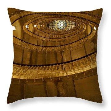 Stylish Staircase Throw Pillow by Patricia Twardzik