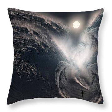 Subconscious Throw Pillow by Lourry Legarde