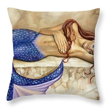 Sublime Throw Pillow by Rebecca Glaze