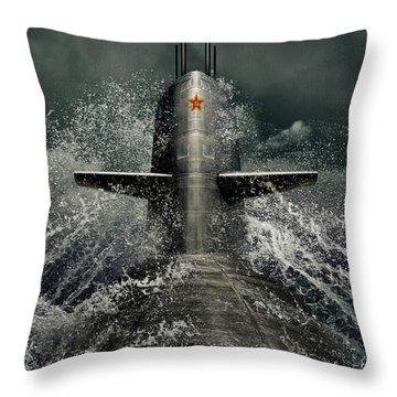 Moscow Throw Pillows