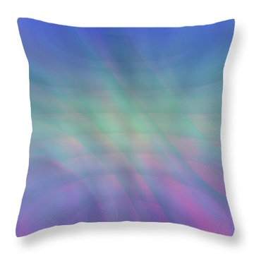 Throw Pillow featuring the photograph Subtle Swirls by Kellice Swaggerty